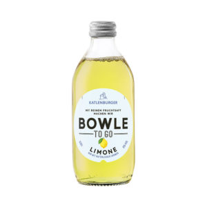 Bowle/ Punch TO GO limonadă 100% natural Germania