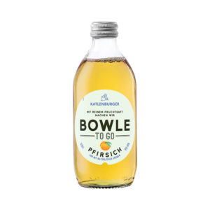 Bowle/ Punch TO GO piersici 100% natural Germania
