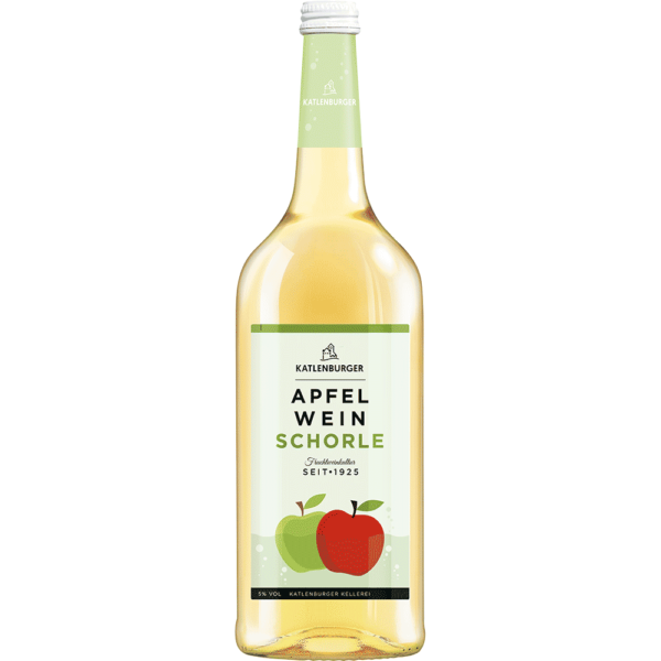 Şpriţ din vin spumant de mere 100% natural Germania